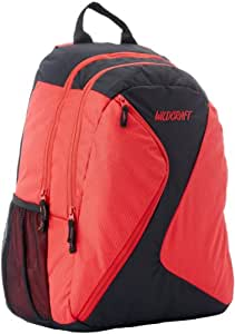 Wildcraft Uranus Polyester Red Casual Backpack(8903338017912)