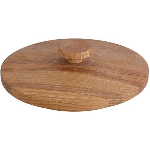 Holzdeckel für Glasdosen Nammi, 16x5 cm (ØxH), natur