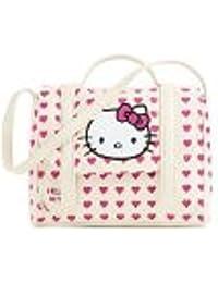 Hello Kitty - Equipaje infantil  Cream/Pink 20cm x 24cm x 8cm