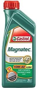 Castrol MAGNATEC Huile Moteur 10W-40 A3/B4 1L (Etiquette anglaise)