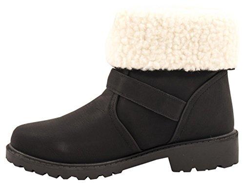 Elara - Stivali senza lacci Donna Nero