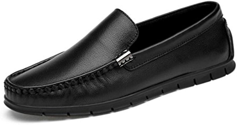 CAI Herrenschuhe Leder/Echtes Leder 2018 Fruumlhling/Herbst Komfort/Fahrschuhe Loafer  Slip Ons Herren Low Lower