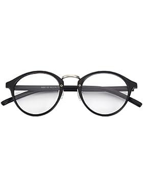 CGID CN65 Retro Clubmaster Wayfarer Anteojos Lente Claro Gafas Para Mujer y Hombre