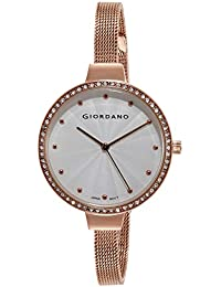 Giordano Analog Silver Dial Women's Watch-2979-44