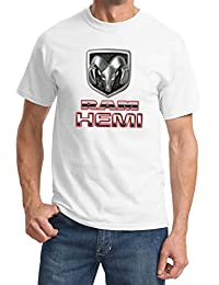 POPO Dodge Ram Hemi Logo Cool T-Shirt Mens Short Sleeves Tops Clothing