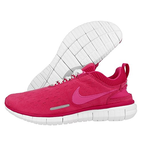 Nike  Free Og 14, Chaussures de course femme wild cherry-vivid pink-white-metallic (642336-600)