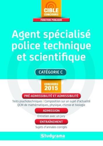 Agent spécialisé de police technique et scientif...