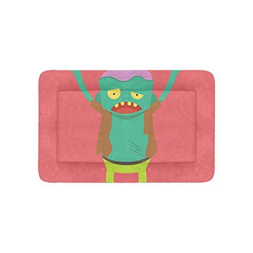 Scary Monster Zombie Cartoon Teufel Extra Große Individuell Bedruckte Bettwäsche Weiche Hundebett Für Welpen Und Katzen Möbel Matte Höhlenauflage Kissenbezug Innen Geschenk Lieferanten 36 X 23 Zoll -