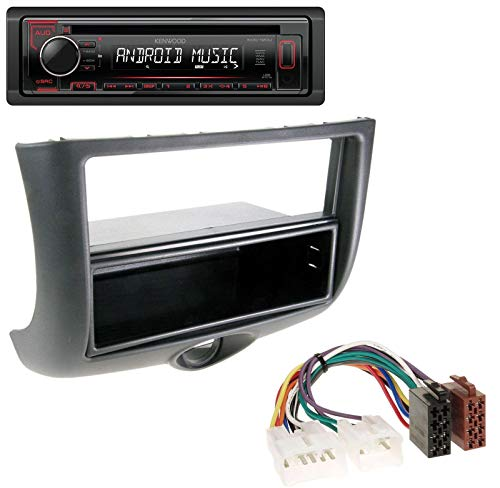 caraudio24 Kenwood KDC-120UR MP3 CD 1DIN AUX USB Autoradio für Toyota Yaris (1999-2003)