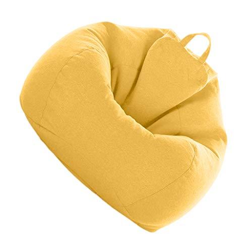 SM SunniMix Sitzsack Bezug Sitzsackhülle ohne Füllung - Gelb
