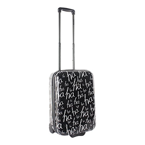 Saxoline Koffer HaHa ABS - Polycarbonat Hartschalenmix Koffer Größe M Hartschale Reisekoffer Trolley Case Fa. Bowatex (Leder Trolley-case)