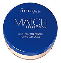 Rimmel London Match Perfection Loose Powder, Transparent, 0.45 Ounce