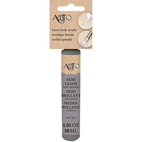 Art-C Heavy Body Gloss Acrylic Paint 30ml-Gray