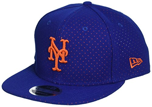 New Era Herren Snapback 9FIFTY Color Peek New York Mets MLB Cap, Blue