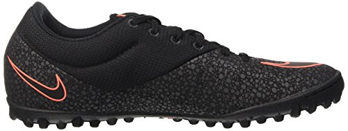 Nike Mercurialx Pro Tf, Chaussures de Football Homme, Noir Noir / orange (noir / noir - anthracite - mangue éclatante)