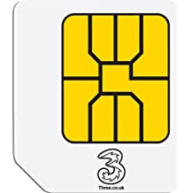 Tres de banda ancha móvil Ready to Go precargado 1 GB de datos Micro SIM para tabletas 3G