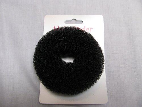 Chignon utiles Faire Ring / shaper pain accessoire cheveux bnwt Couleur: noir facile à utiliser pour créer des petits pains parfaite