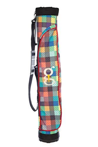 GolfJoy Range Bag, Sonntags-Kurse Tasche, Plaid