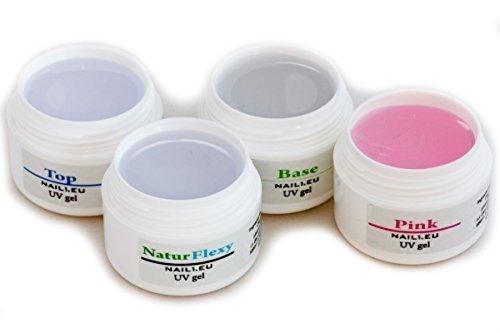 set-gel-unghie-4-7ml-per-unghie-deboli-2x-gel-costruttore-haft-gel-gel-sigillante-nail1eu-