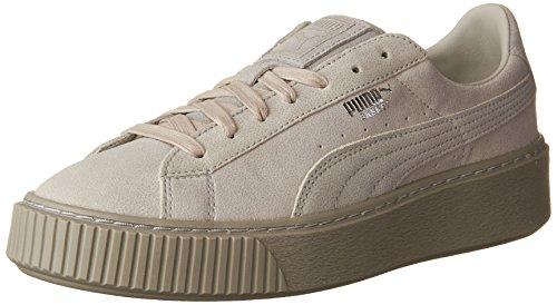 Puma Suede Platform Gold 36222201, Turnschuhe Gray Violet-gray Violet