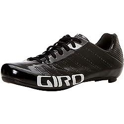 Giro Empire SLX Road, Zapatos de Ciclismo de Carretera para Hombre, (Black/Silver 000), 43 EU