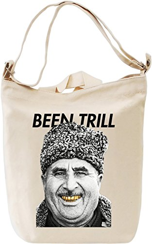 Been Trill Golden Teeth Old Man Stay Real Goldie Leinwand Tagestasche Canvas Day Bag| 100% Premium...
