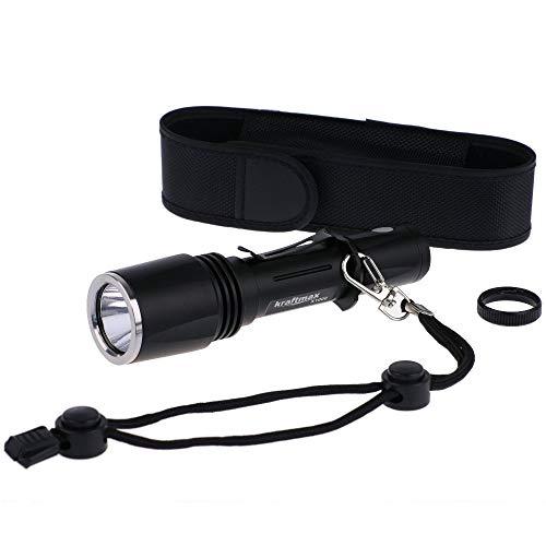 Kraftmax X1000 Hochleistungs Cree XML U2 LED Taschenlampe 700 L inklusive Tactical Ring, Tasche, Gürtelclip, Armschlaufe und Ersatzteile 42266888