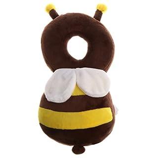 MagiDeal Baby Kopfschutz schützen Kissen, Kinderschutz Baby-Kopf Cap Fallschutz Marienkäfer/Biene Muster - Biene, wie beschrieben