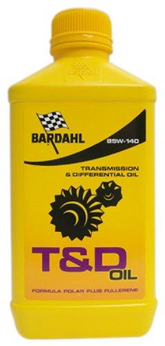 BARDAHL T&D Oil SAE 85W140 Lubrificante Speciale Per Trasmissioni Manuali e Differenziali Ingranaggi 1 LT