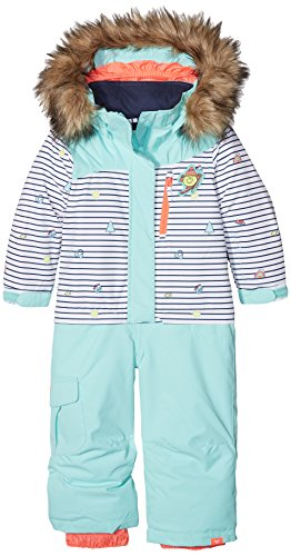 Roxy Damen Jumpsuit Paradise Little Miss-Snow Suit For Girls 2-7, Bright White, 2