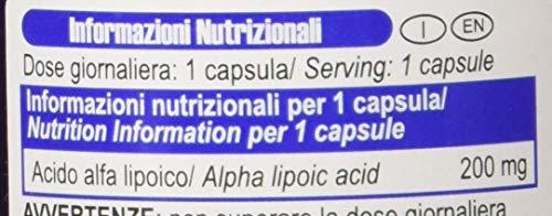 Yamamoto Nutrition Alpha LIPOIC ACID integratore alimentare di acido alfa lipoico 100 capsule