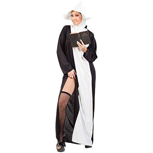 Kostüm Nonne Heiße - Spassprofi Heißes Nonnenkostüm Gr. 38-42 Kostüm Nonne Kloster Abtissin Äbtin