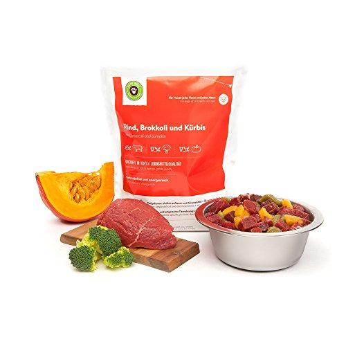 Barf Hundefutter, Starterpaket für Hunde von Pets Deli – 10 x 200g oder 400g Barf Menüs mit Kohlenhydraten (glutenfrei) (400g) - 2