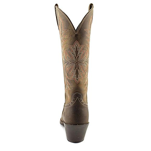 Ariat Round Up Maddox Boot Snip Toe Distressed Brown