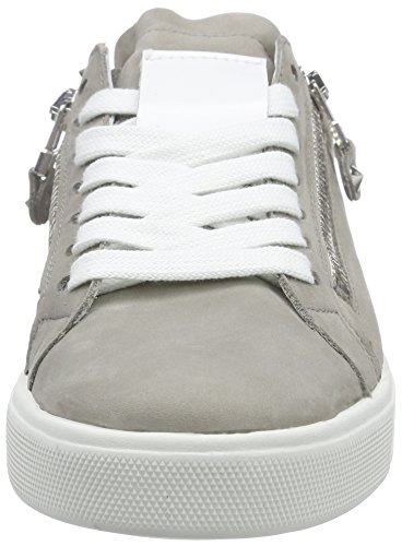 Kennel und Schmenger Schuhmanufaktur Damen Town Sneakers Grau (stone/bian S.weiss 694)