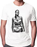 James Bond Dr No Ursula Andress Men's Fashion Quality Heavyweight T-Shirt.