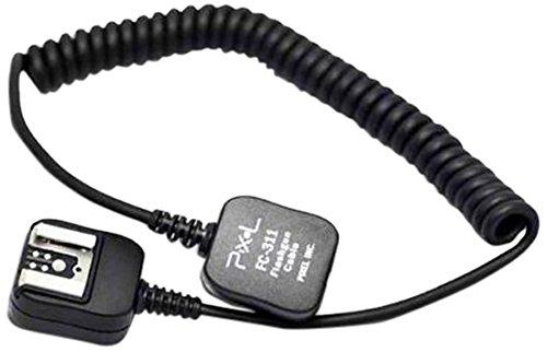 Pixel FC-311/S E-TTL Kompakter Blitzschuh-Adapter für Canon (Verlängerungskabel)