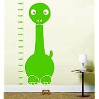 Dinosauro misura altezza per bambini in vinile Wall Art LSWA1-Adesivi