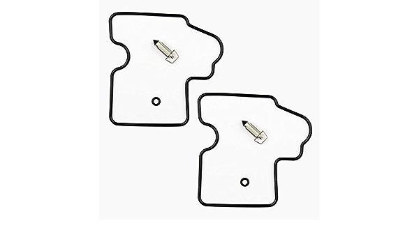 2x Vergaser Reparatursatz Dichtung Kit Passend Für Kawa Kfx Kvf 650 700 750 Auto