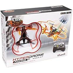 World Brands Hyper Drone Single Kit, color naranja (84780)