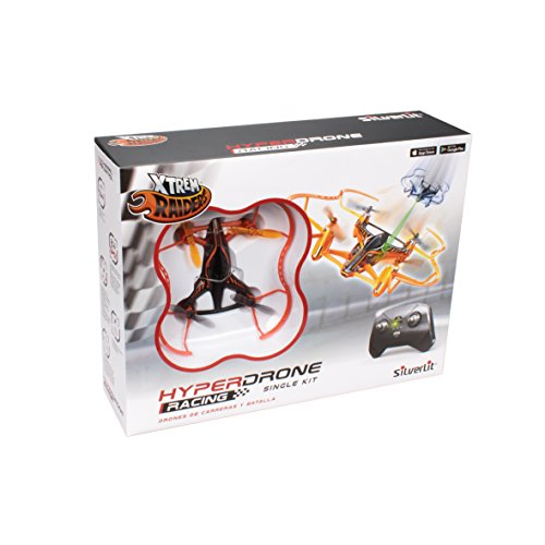 World Brands- Hyper Drone Single Kit, Color Naranja (84780)