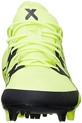 adidas X15.1 Fg/Ag, Chaussures de football homme Jaune (solar Yellow/solar Yellow/core Black)
