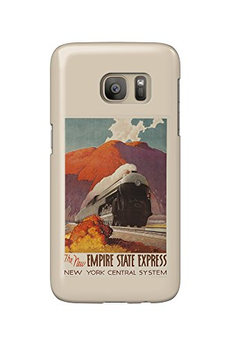 New York Central - Empire State Express Vintage Poster (artist: Ragan) USA c. 1941 (Galaxy S7 Cell Phone Case, Slim Barely There)