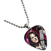 Alice Cooper Double Sided Guitar Plektrum Plektron Pick Chain, Kette