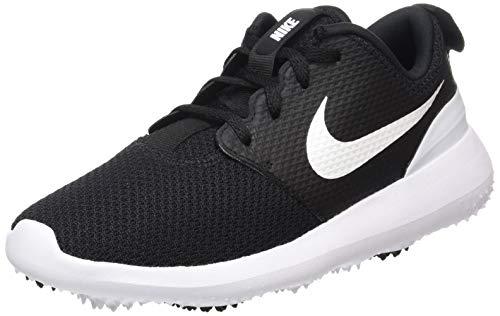 Nike Roshe G, Scarpe da Golf Unisex-Bambini, Nero (Negro/Blanco 001), 35 EU