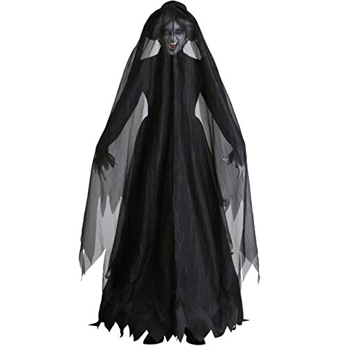 Lady Death Kostüm - TTWL Halloween Kostüm Hexe Kostüm Death Female Ghost Vampire Bride Death Women M-XL Cosplay Kostüm M