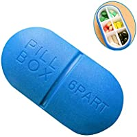 SSLW Pille Case Box Großen Organisator Reise Container Medizin Outdoor Wasserdichter Speicher Portable Kaugummi... preisvergleich bei billige-tabletten.eu