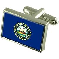 New Hampshire Paese bandiera gemelli - selezionare regali Pouch