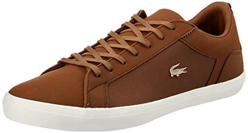 Lacoste Lerond Sneaker Herren braun/weiß, 9 UK - 43 EU - 10 US