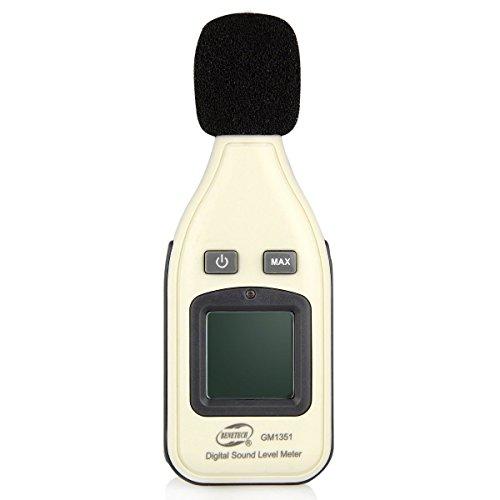 Schallpegel-Messgerät 30-130 dB Dezibel Lautstärke Messgerät Sound